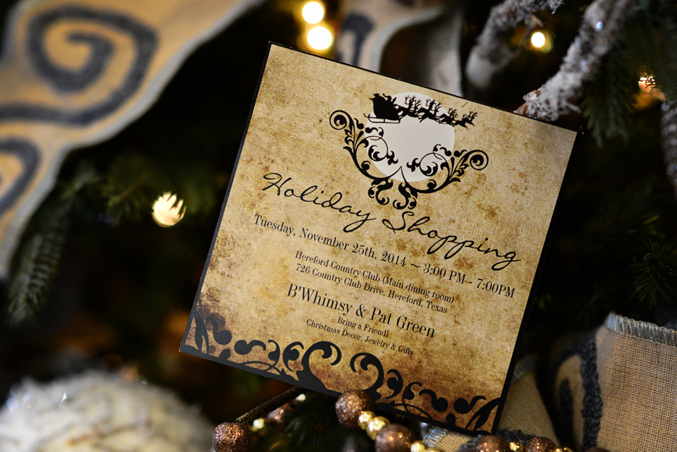 Christmas Trunk Show by B. Whimsy