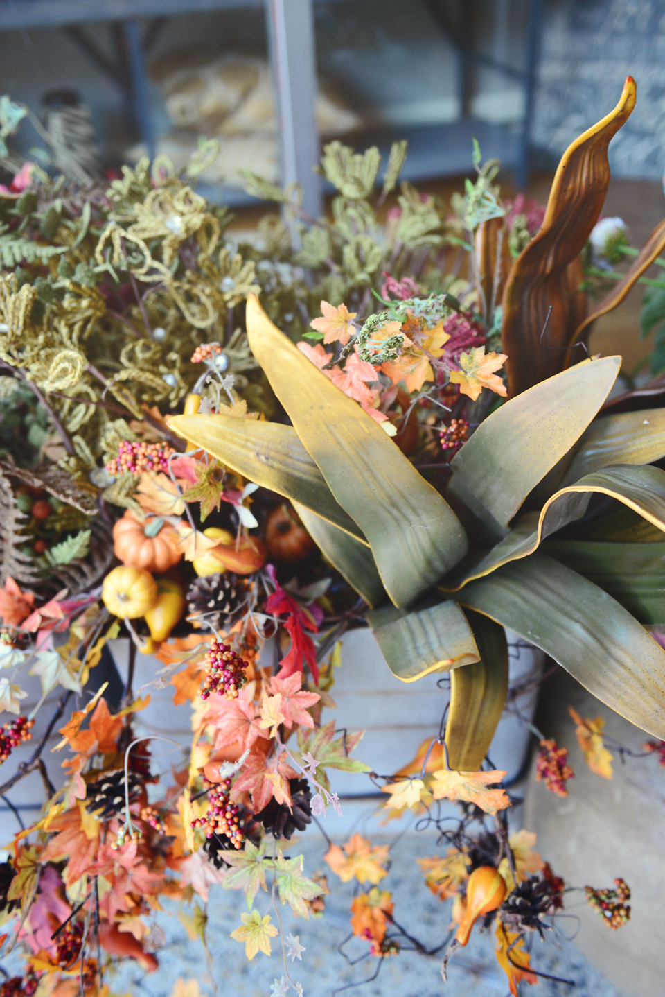 Fall Floral by B. Whimsy