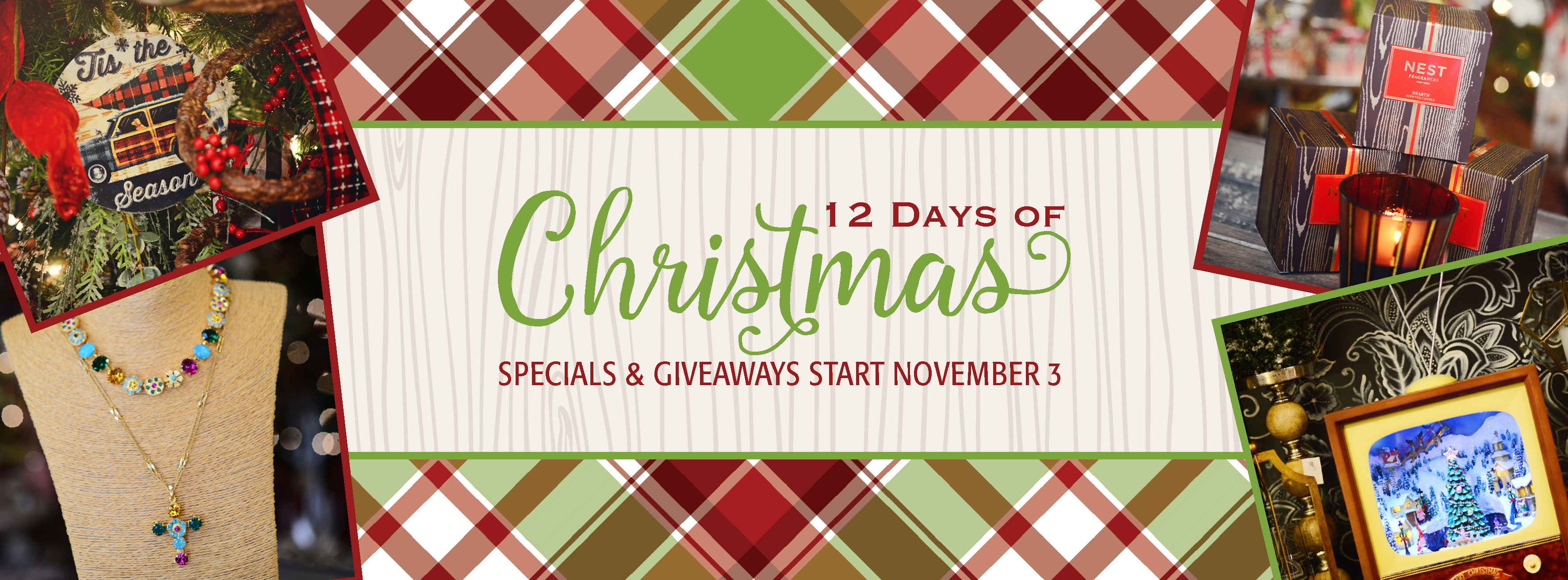 12 Days of Christmas at B. Whimsy