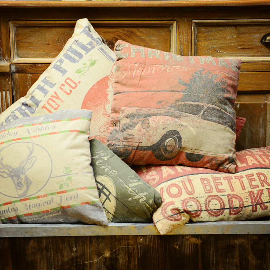 Christmas Pillows by B. Whimsy