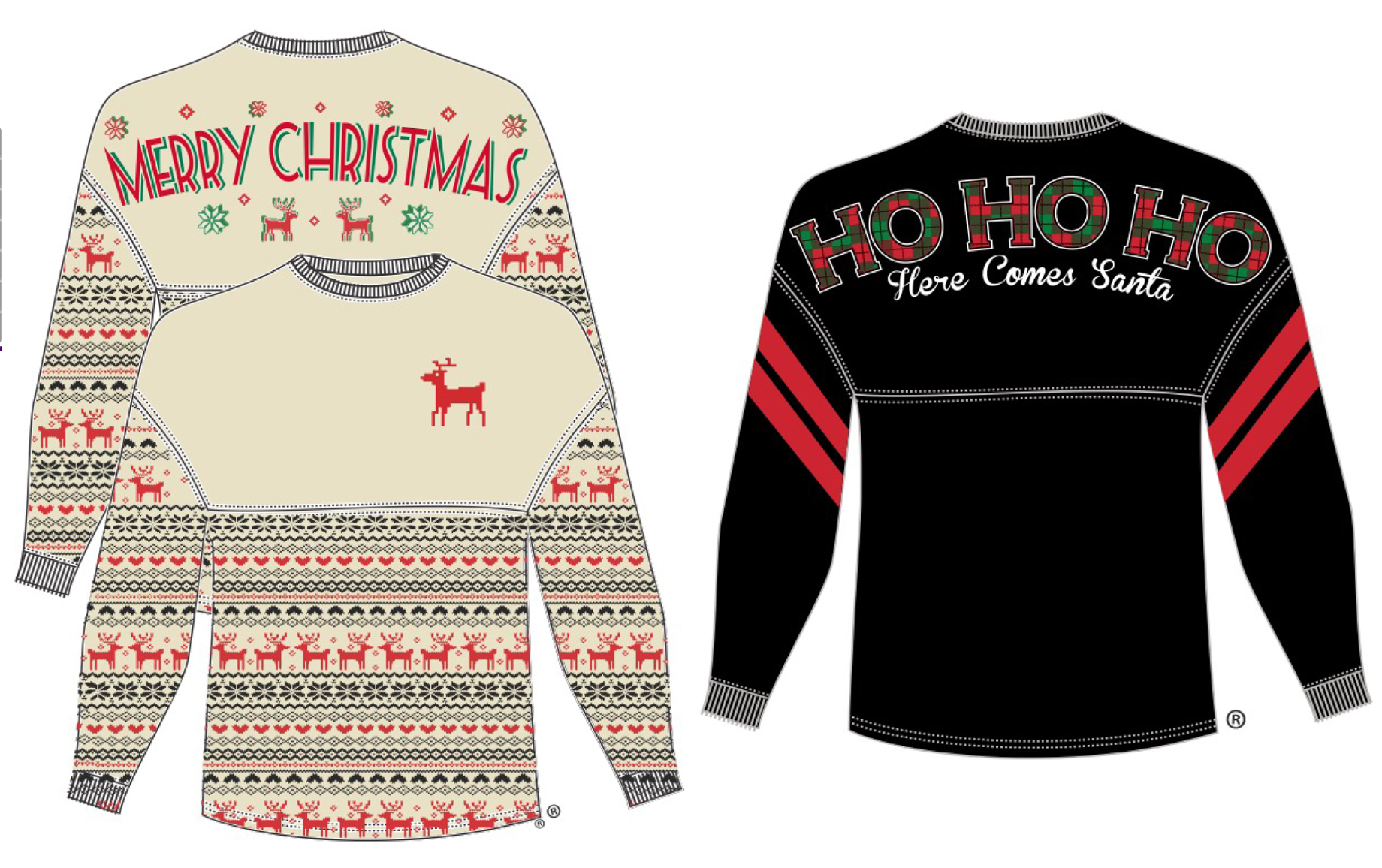 Christmas Shirts by B. Whimsy